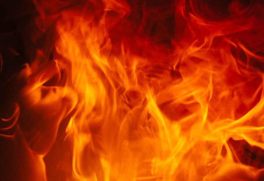 fire orange emergency burning