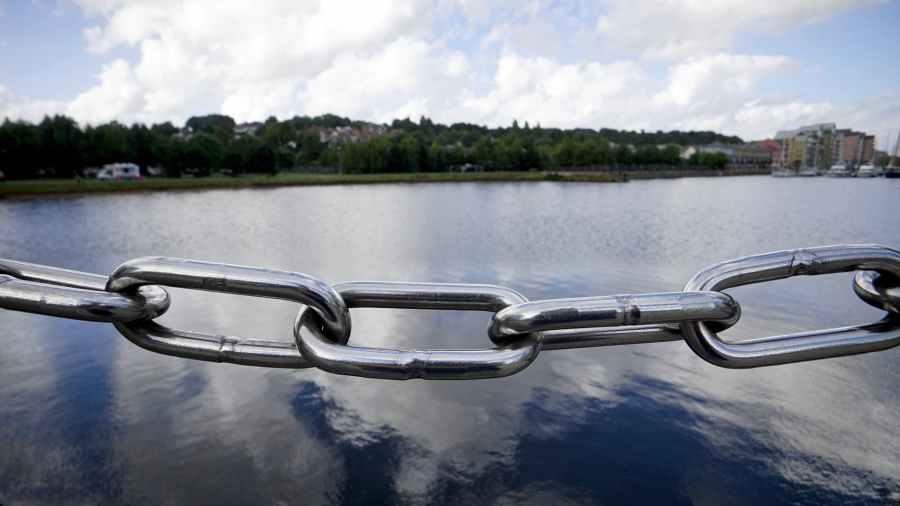 beautiful calm chain chain link